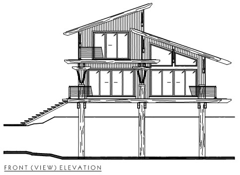 Timber Frame Modern 3 Plan